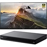 Sony 65 4K Ultra HD Smart Bravia OLED TV 2017 (XBR-65A1E) with Sony 4K Ultra HD Smart Blu-Ray Player with Hi Res 2017 Model