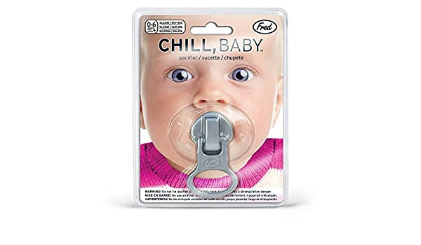 Amazon.com : Chill Baby, Zip It Baby Pacifier by Fred Perry ...