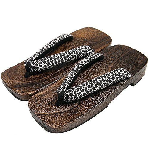 KYOETSU Men's Japanese Wooden Geta Sandals (X-Large, for sale  Delivered anywhere in USA