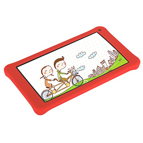 AOSON M753-S1 7 Inch kids Tablet PC, Android 7.1 Nougat Quad-core Processor, IPS HD Touch Screen, 1GB RAM 16GB Storage, Kids APPS Iwawa Kidoz Dual Camera Bluetooth Wi-Fi Supported, GMS Certificated by Aoson (Image #4)