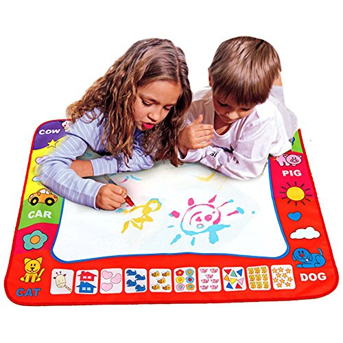 80X60cm Baby Drawing Writing Board Water Painting Doodle Canvas - 6