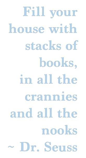 Amazon.de: Dr. Seuss Buch Zitat, powder blue, 23.5\