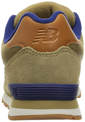 New Balance KL574V1 Grade Collegiate Pack Fashion Sneaker (Little Kid/Big Kid) Tan/tan