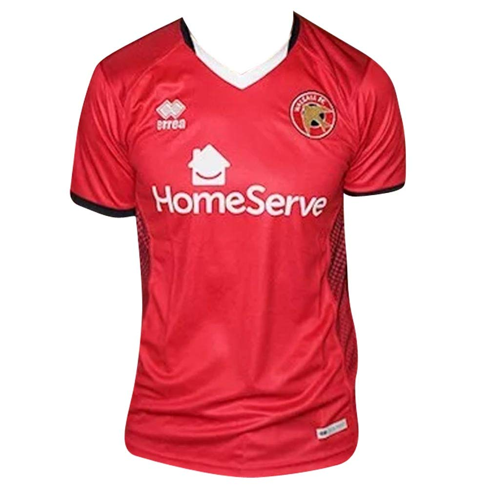 Errea 2018-2019 Walsall Home Football Soccer T-Shirt Trikot