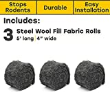 Xcluder 162743 Rodent Control Fill Fabric 3 Rolls