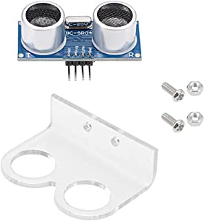 sourcing map Module à Ultrasons HC-SR04 Capteur Distance Support Montage Set 1 Set
