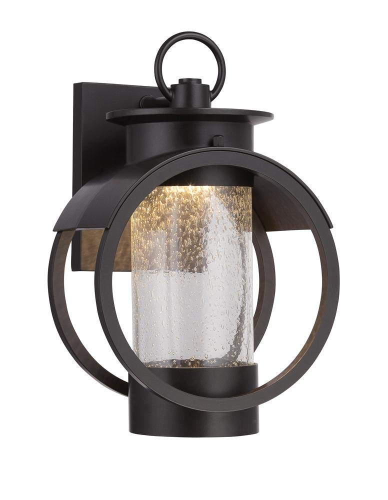 Arbor 9'' LED Wall Lantern by Designers Fountain LED32821-BNB in Bronze Finish