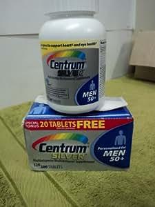 Centrum Silver for Men 50+ Multivitamin 120 Tablets