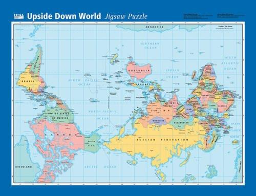 Upside Down World Map Amazoncouk Hema 9781865002590 Books: Map Of World Upside Down At Infoasik.co
