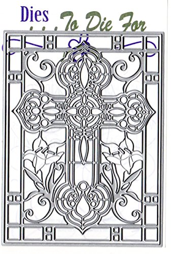 Dies ... to die for metal craft cutting die - Stained Glass Cross Advanced -
