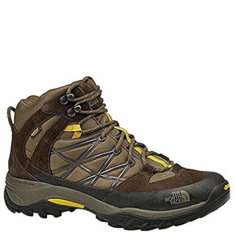 The North Face Storm Mid WP Boot Men's Weimaraner Brown/Antique Moss Green 8