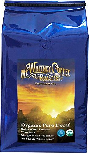 Mt. Whitney Coffee Roasters Peru Swiss Water Process Deca...