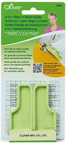 Clover Needlecrafts 9584 3 Piece 6-in-1 Stick 'n Stitch Guide by Nancy Zieman (Parent)