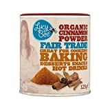 Lucy Bee Organic & Fair Trade Cinnamon Powder 125g