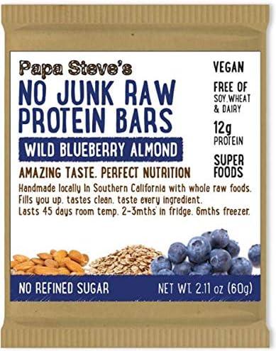 Papa Steve's No Junk Raw Vegan Protein Bars