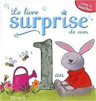 Le livre surprise de mes 1 ans : Livre à toucher par Elizabeth Schlossberg