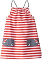 Mud Pie Little Girls' Whale Pocket Dress