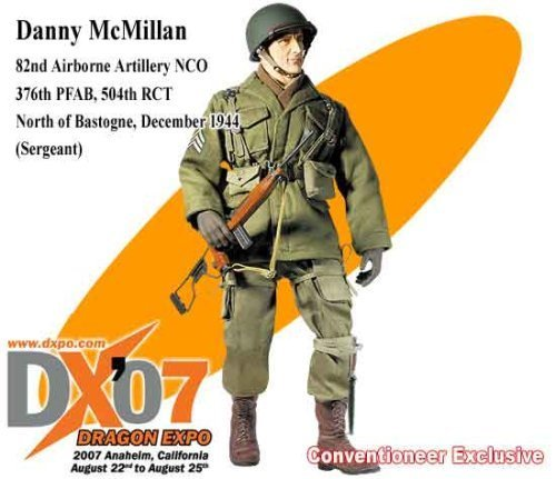 Dragon Danny McMillan WWII US 82nd Airborne Artillery NCO by Dragon Action Figure