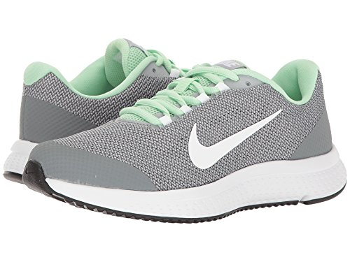 Nike Womens Runallday Running Shoes (9.5 B(M) US, Fresh Mint/White/Wolf Grey)