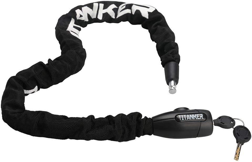 Titanker cadena de seguridad para bici y moto (8mm)