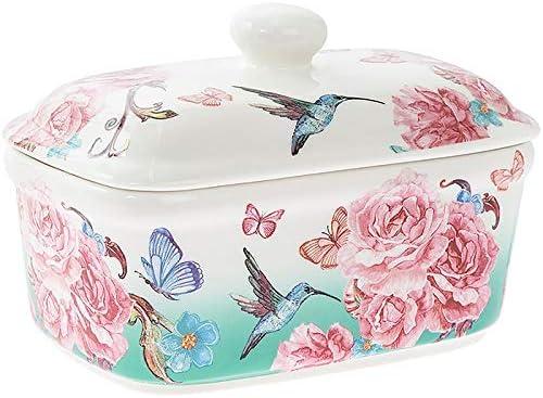 Oriental Blossom - Mantequera de Porcelana