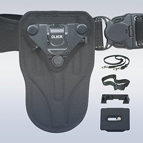 Click Pro Camera Holster Captures Pro DSLR- Step Up from Spider by Turbo Ace