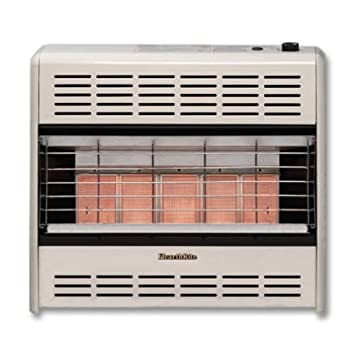 Empire Comfort Systems HR25ML 25,000 BTU Vent Free LP Only HearthRite Radiant Heater Empire Comfo