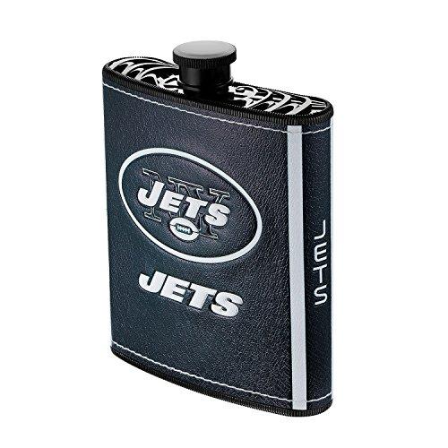 Boelter Brands NFL New York Jets Plastic Hip Flask, 7-Ounce Boelter Brands New York Jets