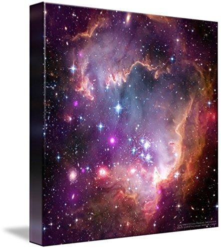 Art Art Chandra (Wall Art Print entitled Ngc602 Chandra Hubble Spitzer, Nasa by Celestial Images | 36 x 36)