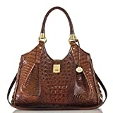 Brahmin Elisa Shoulder Bag, Pecan, One Size