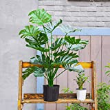 """Toopify Artificial Palm Tree, 28"""" Fake Monstera"""
