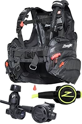 Zeagle Halo BCD F8 Regulator and Octo Package