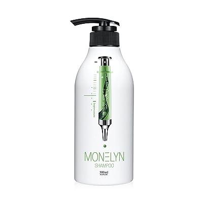 Monelyn Hair loss Shampoo Natural Ingredient base Scalp Treatment Anti Hair Loss Regrowth Natural For men & women made in Korea 16.9 fl oz (500 ml)