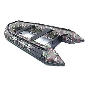 ALEKO hinchable barco de camuflaje 13,8 pies suelo de aluminio 7 ...