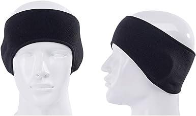 New Free People  Knit Earband Headwrap Headband Sweatband Black White Stretchy