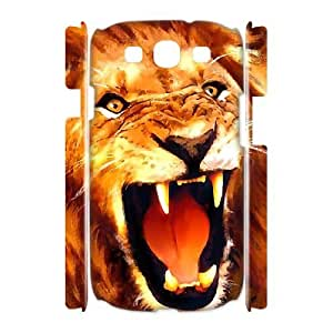 Case Of Lion Customized Hard Case For Samsung Galaxy S3 I9300