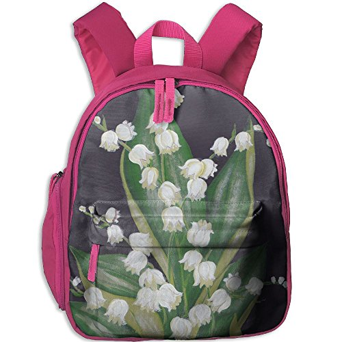 Flores Convallariae Kids Oxford Cloth Daypack For Travel