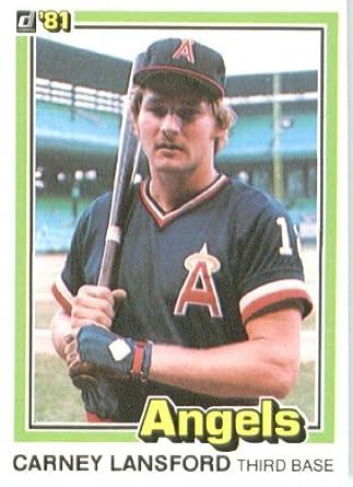 Amazoncom 1981 Donruss Baseball Card 409 Carney Lansford