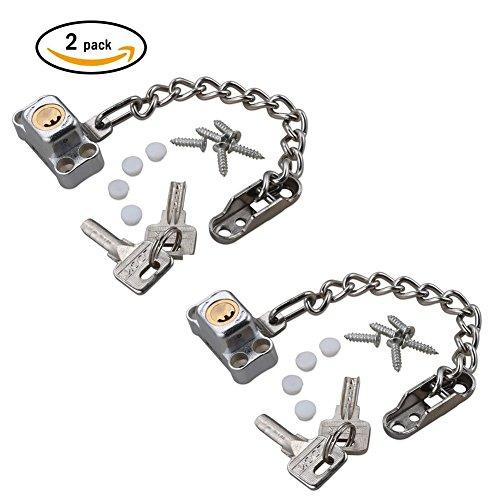 MLMH Casement - Cierre de Seguridad Ventana corredera Cerradura de Seguridad niños (aleación de Aluminio Hebilla antirrobo...