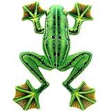 TAGLN Lifelike Stuffed Animals Green Frogs Soft Plush Toys Home Decrorations 18 Inch