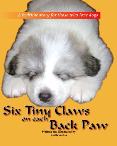 Six Tiny Claws On Each Back Paw