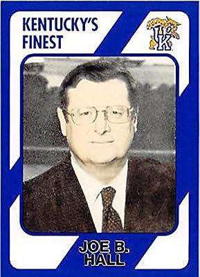 Joe Hall Basketball Card (Kentucky Wildcats, Coach) 1989 Collegiate Collection #115
