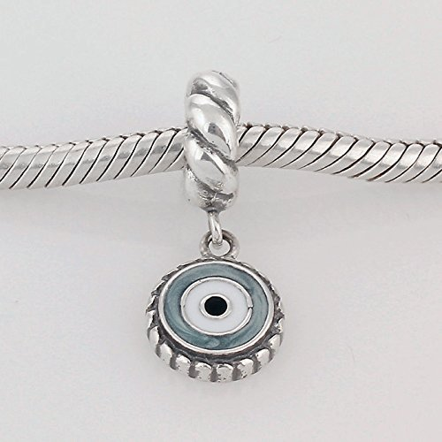 charm pandora occhio azzurro