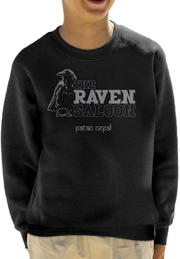 Cloud City 7 The Raven Saloon Nepal Indiana Jones Kids Sweatshirt: Amazon.es: Ropa y accesorios