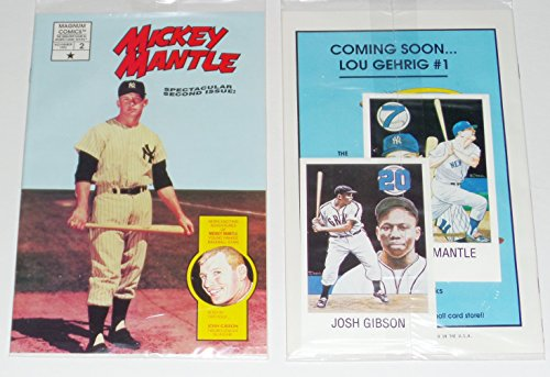 1992 MICKEY MANTLE COMIC BOOK ISSUE #2 BRAND NEW SEALED MAGNUM COMICS NY YANKEES