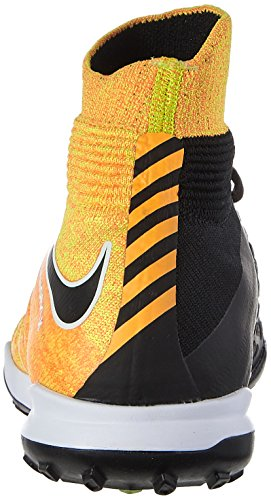 Nike Jr. Hypervenomx Proximo Ii Dynamic (Tf), Zapatillas de Fútbol Unisex Niños Naranja (Laser Orange/black-white-volt)