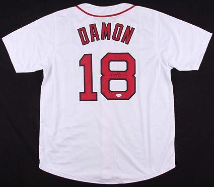 5cd0c989429 Autographed Johnny Damon Jersey - Custom) - Coa! - JSA Certified -  Autographed MLB