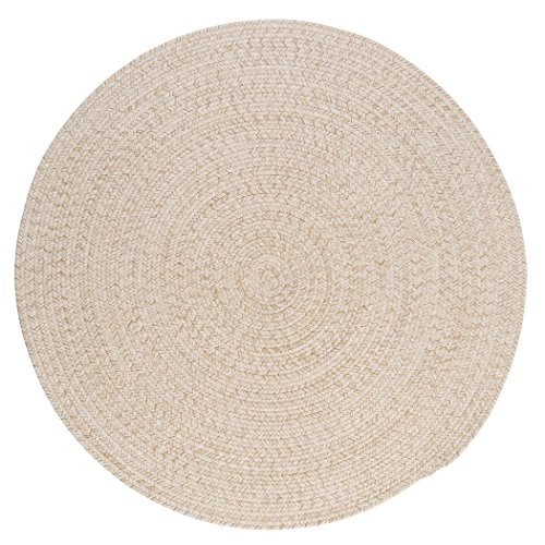 Tremont Round Area Rug, 6 by 6-Feet, Natural