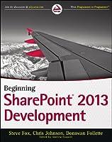 Beginning SharePoint 2013 Development Front Cover