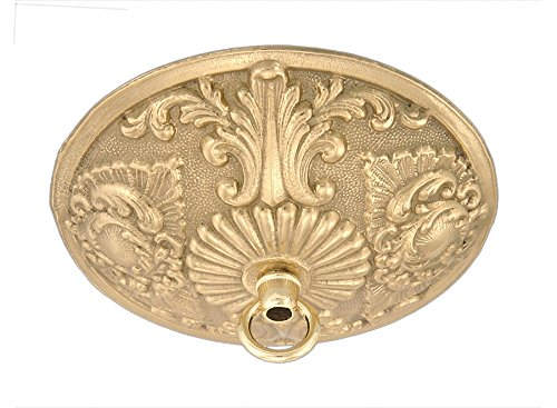 Cast Brass Canopy - B&P Lamp Victorian Cast Brass Canopy, 5 1/2